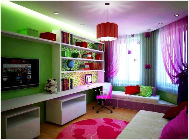 Фото — 3 Дизайн гостиной комнаты и детской