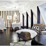 Неожиданный чёрно-белый вариант: стильная квартира в современном стиле