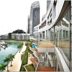 Знаменитый keppel bay — уникальный жилой комплекс на набережной в сингапуре