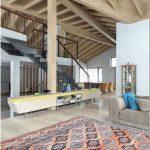 Роскошный деревянный дом для шикарной жизни в стиле современного кантри