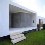 Дизайн пляжного дома palabritas beach, лима, перу