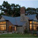 Дом из тёмного кирпича: интересные идеи оформления фасада дома