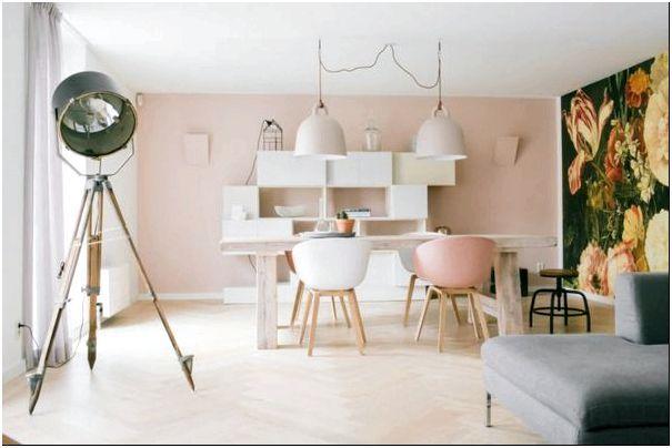 Фото 17 — Фотопринт и пастельные тона комнаты