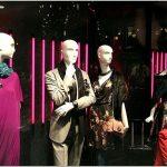 Обновлённая витрина универмага steffl с коллекцией осенней одежды, вена, австрия