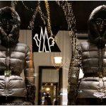 Практичность и изящество родом из франции. стильные витрины бутика moncler в будапеште