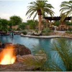 Обворожительные идеи дизайна патио с открытым бассейном