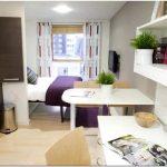 Дизайн маленькой квартиры студии — 20 фото