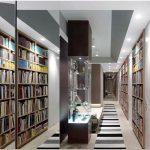 Обширная коллекция произведений искусства и книг — главное украшение квартиры от студии fleitz group identity architects, штутгарт, германия.