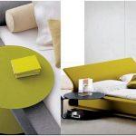 Оригинальные прикроватные тумбочки помогут оживить интерьер спальной комнаты