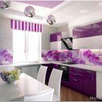 Как выбрать дизайн обоев на кухню — 20 фото идей