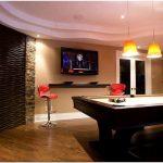 Потрясающая игровая комната для взрослых из пустующего подвала – оригинальная дизайнерская идея в роскошном исполнении