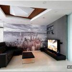 Дизайн гостиной в стиле модерн — 27 фото вариантов