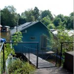 Оригинальный плавучий дом со всеми удобствами – интересное творение чешских архитекторов