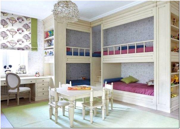 Фото 6 — Детская комната для четверых детей от StudioMR