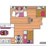 Дизайн однокомнатной квартиры 30 кв. м — 5 вариантов проектов