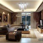 Стильный интерьер гостиной в классическом стиле