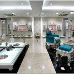 Роскошь и великолепие бутика по проекту 4d в бангалоре для ювелирных шедевров от neelkanth