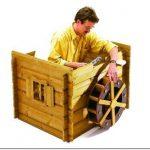 Сказочный домик старого мельника на даче: как его сделать своими руками
