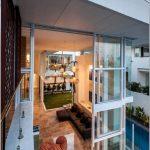 Оцените сияющее великолепие элитной резиденции promenade от дизайн-студии bgd architects, квинсленд, австралия