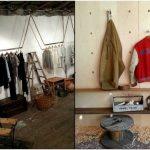 Оригинальный интерьер магазина одежды homerun