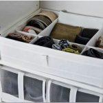 Способы, облегчающие хранение вещей в маленьком шкафу