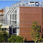 Оригинальная архитектурная облицовка с «текстильной» структурой