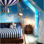 Подарите сыну отдельную каюту юного яхтсмена – оригинальный дизайн спальни для мальчика