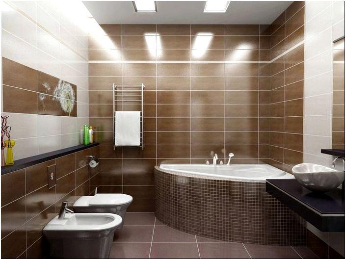 Интерьер ванной комнаты - МЕГА фото обзор, красивые ванные