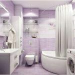 Дизайн проект ванной комнаты. готовые варианты (111 фото)