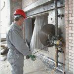 Услуги по алмазному пилению бетонных покрытий