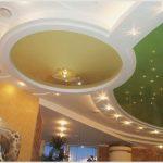Потолок из гипсокартона и его неоспоримые преимущества