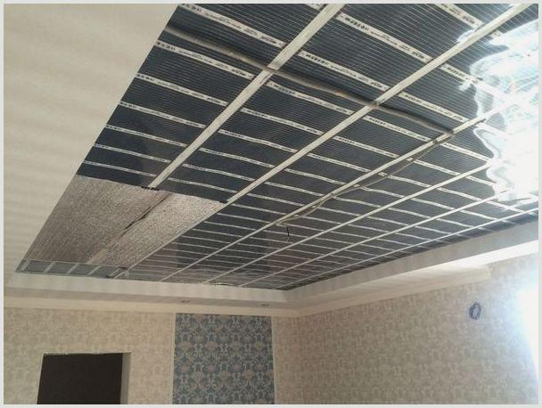инфракрасные панели отопления потолочные