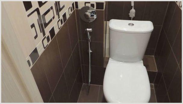 гигиенический душ со смесителем монтаж