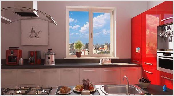 сколько стоит пластиковое окно для кухни
