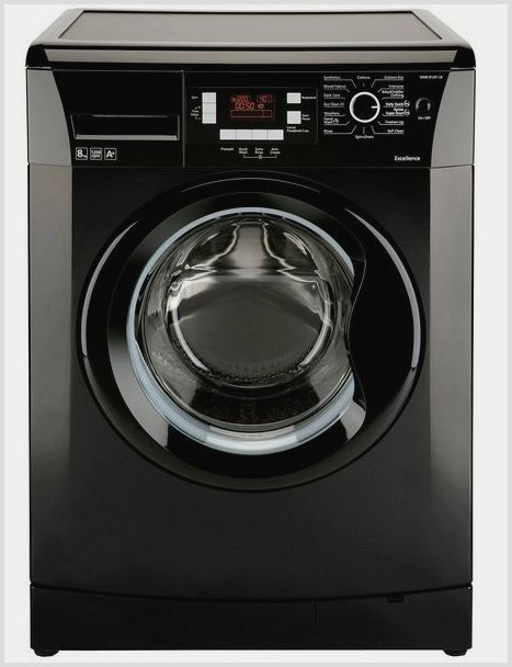 стиральная машина индезит черная