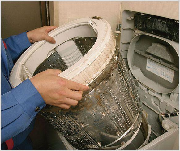 ремонт барабана в стиральной машине