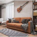 Мягкая мебель – основной элемент стиля квартиры