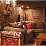 Оформление интерьера в египетском стиле