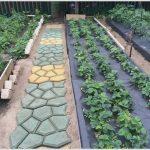 Садовая тротуарная плитка