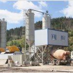 Строительное оборудование: бетоносмесительные установки