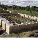 Технология строительства фундамента для дома своими руками.