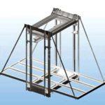 Особенности конструкций вертикально-подъемной системы