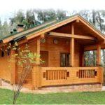 Лучшие условия для комфортного проживания обеспечат деревянные дома из бруса