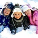 Выбор зимней одежды для детей