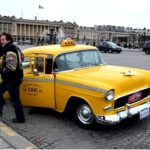 Такси в Париже
