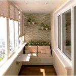 Типы балконного остекления