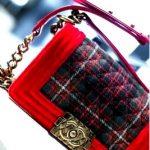 Балетки Chanel и клатч Chanel.