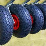 Разновидности колес для тележек и правила их выбора