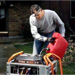Сколько расходует топлива бензогенератор