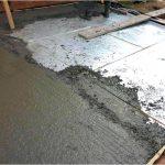 Цементный пол — когда выйдет, как сделать?